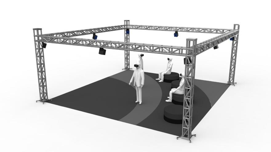 多人大空间虚拟仿真实验室建设